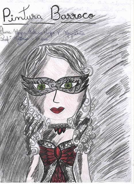 Desenho da aluna Mayra do 7° ano turma 7111